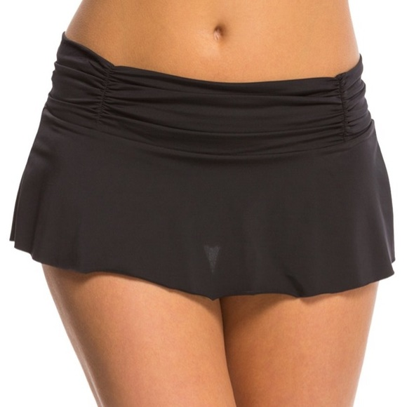 Kenneth Cole Other - NWT Kenneth Cole New York Rouched Swim Skirt